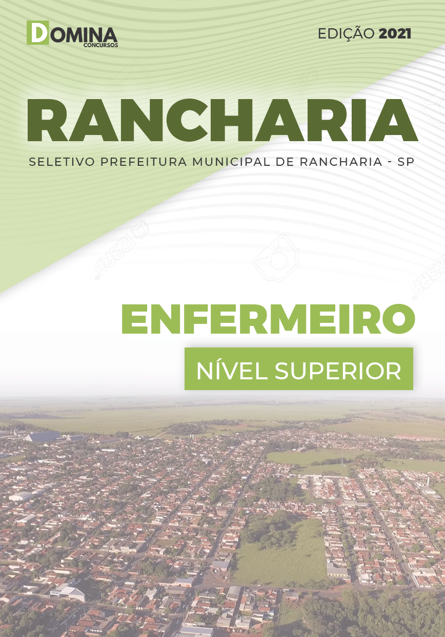 Apostila Processo Seletivo Pref Rancharia SP 2021 Enfermeiro
