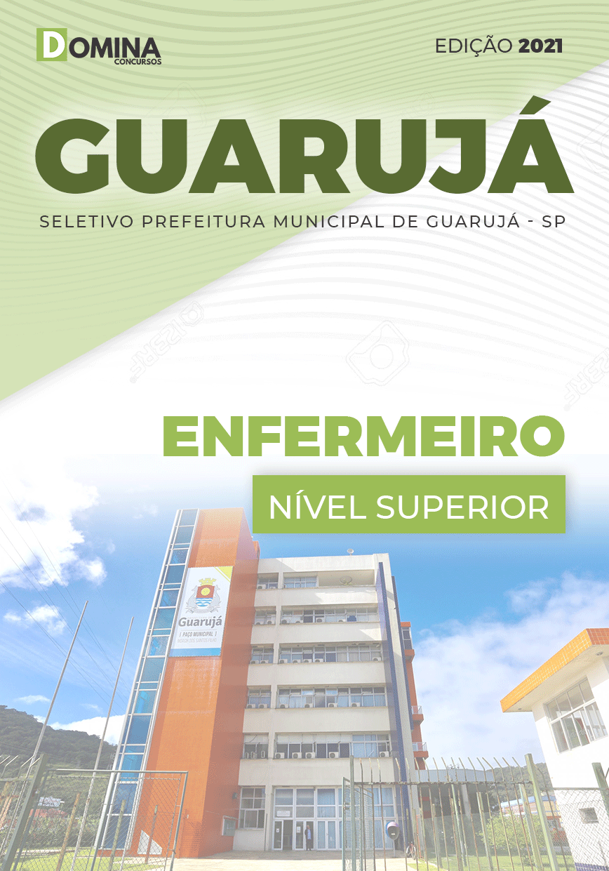 Apostila Processo Seletivo Pref Guarujá SP 2021 Enfermeiro