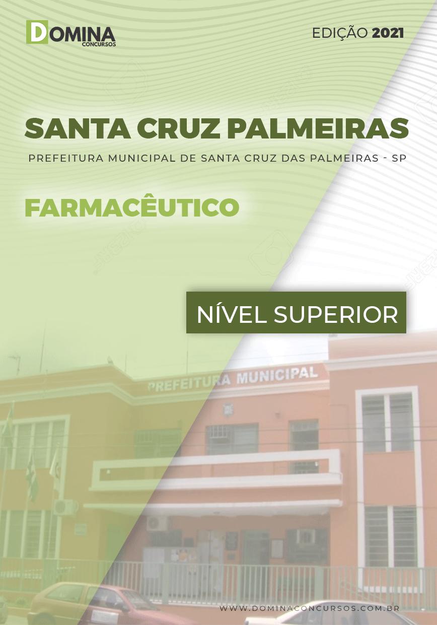 Apostila Santa Cruz das Palmeiras SP 2021 Farmacêutico