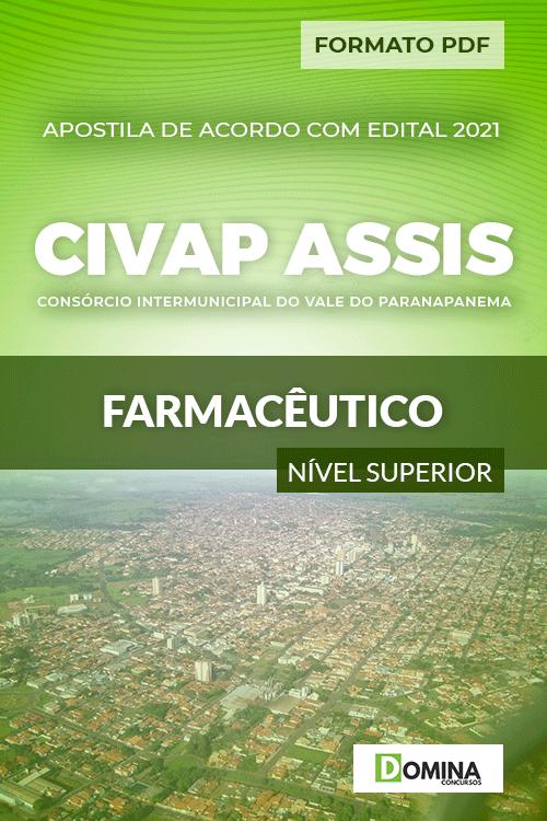 Apostila Processo Seletivo CIVAP de Assis SP 2021 Farmacêutico