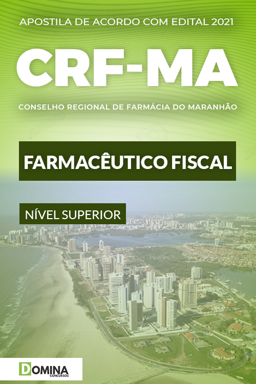 Apostila Concurso CRF MA 2021 Farmacêutico Fiscal