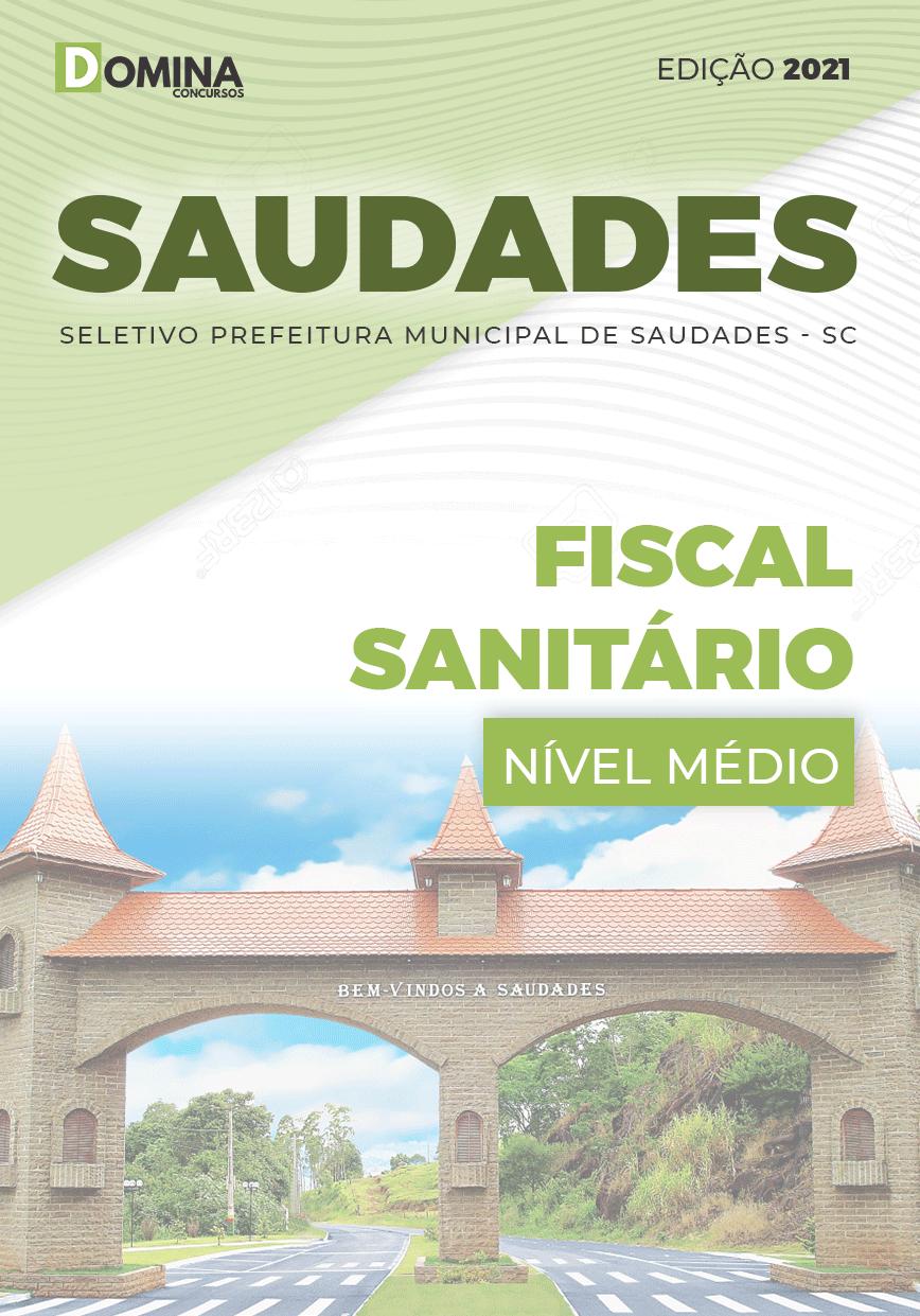 Apostila Seletivo Pref Saudades SC 2021 Fiscal Sanitário