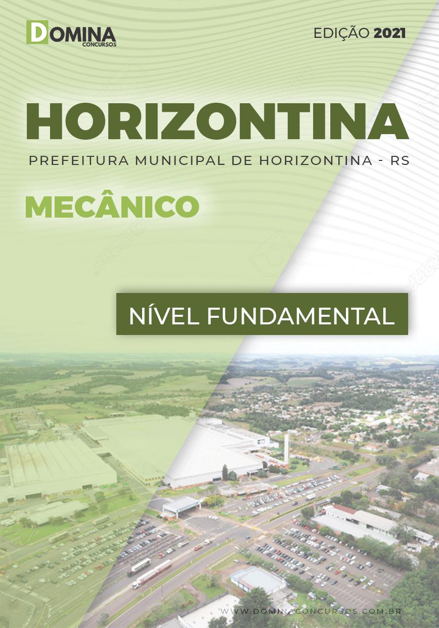 Apostila Concurso Pref Horizontina RS 2021 Mecânico