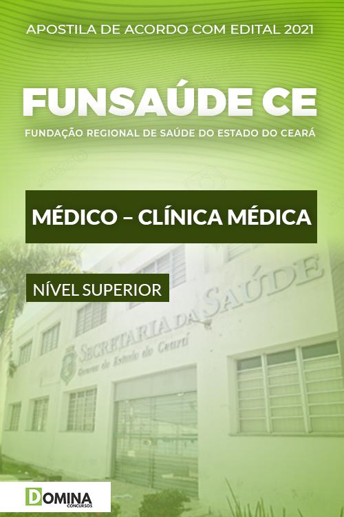 Apostila Concurso FUNSAÚDE CE 2021 Médico Clínica Médica