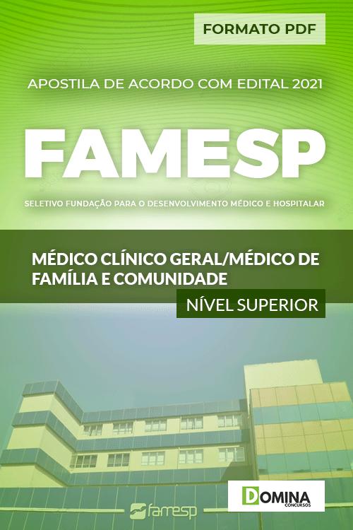 Apostila FAMESP SP 2021 Médico Clínico Família e Comunidade