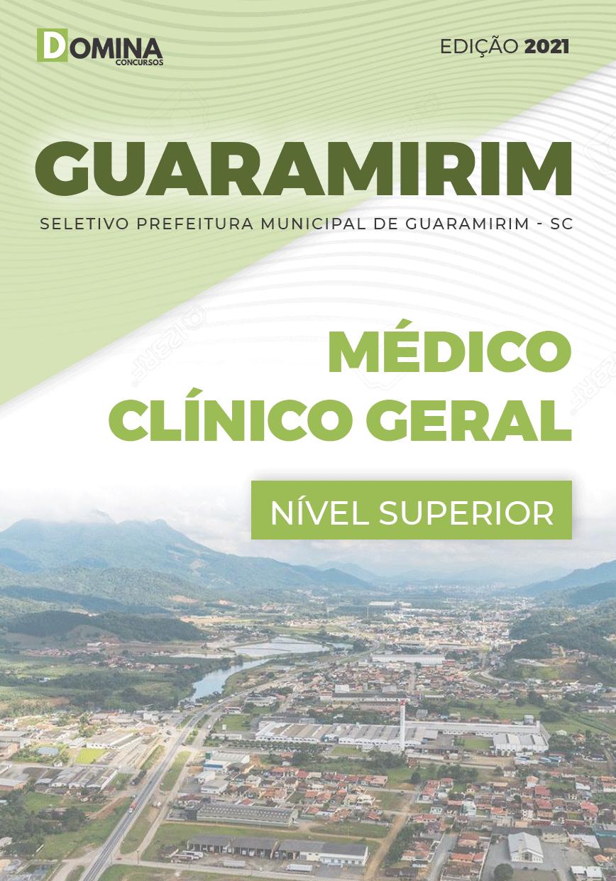 Apostila Seletivo Pref Guaramirim SC 2021 Médico Clínico Geral