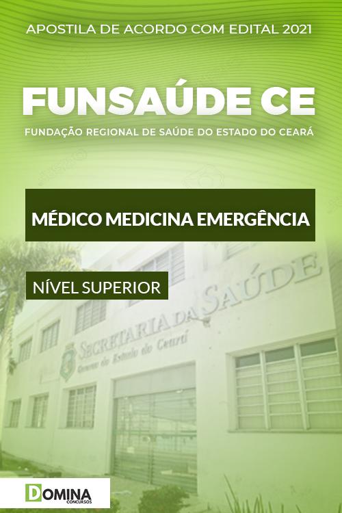 Apostila FUNSAÚDE CE 2021 Médico Medicina de Emergência