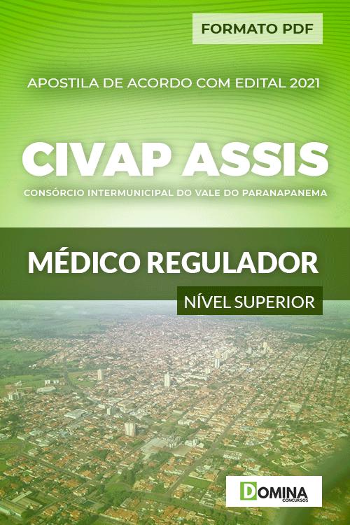 Apostila Seletivo CIVAP de Assis SP 2021 Médico Regulador