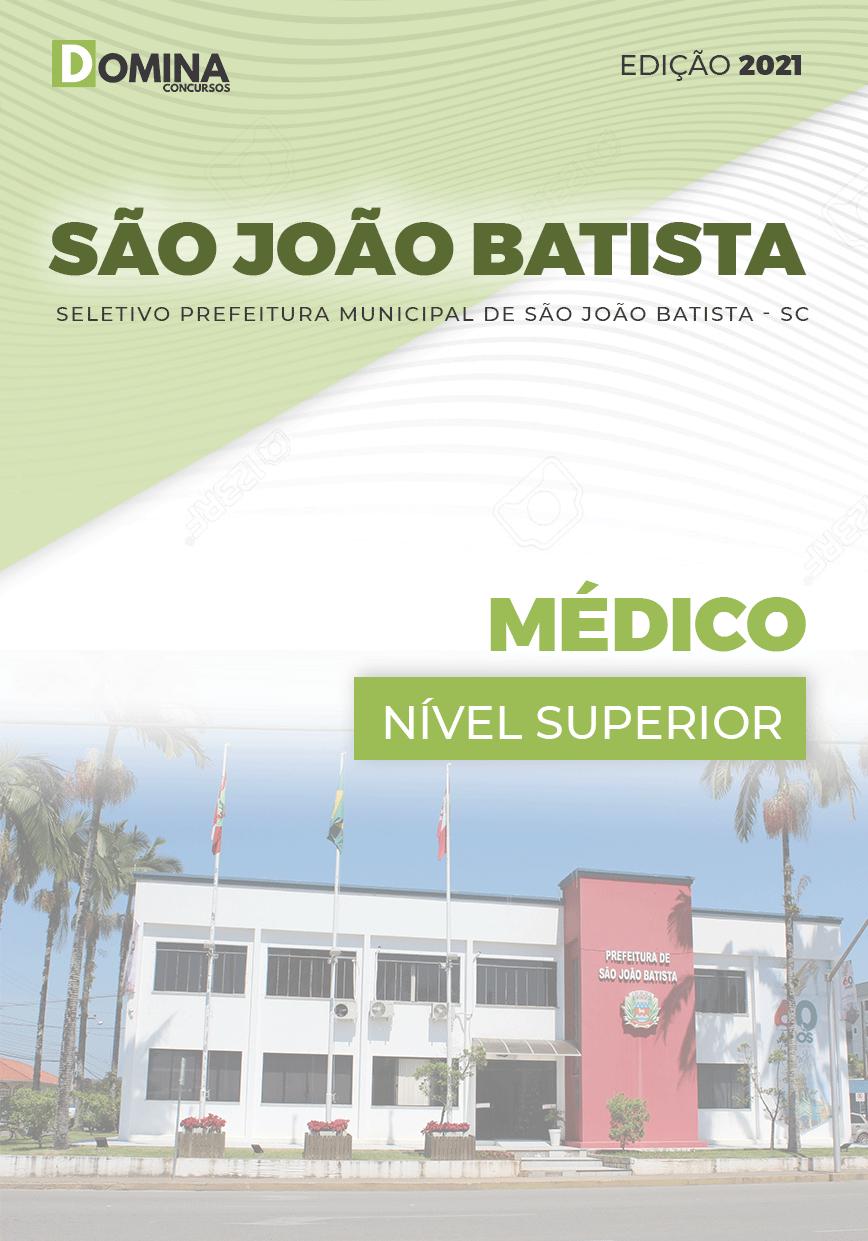 Apostila Seletivo Pref São João Batista SC 2021 Médico