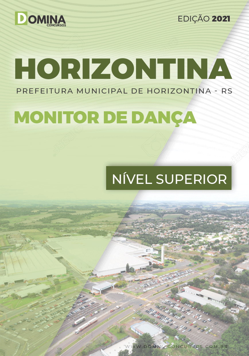 Apostila Concurso Pref Horizontina RS 2021 Monitor de Dança