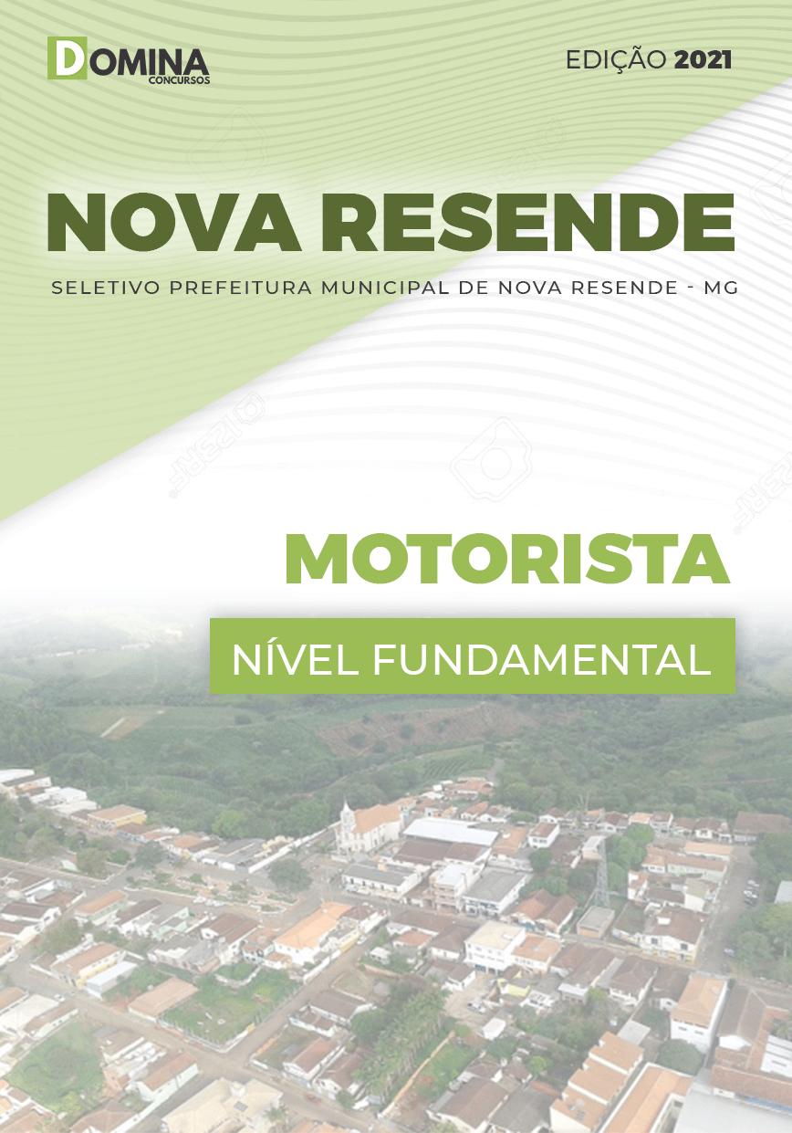 Apostila Seletivo Pref Nova Resende MG 2021 Motorista