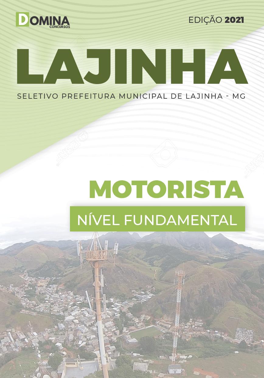 Apostila Processo Seletivo Pref Lajinha MG 2021 Motorista
