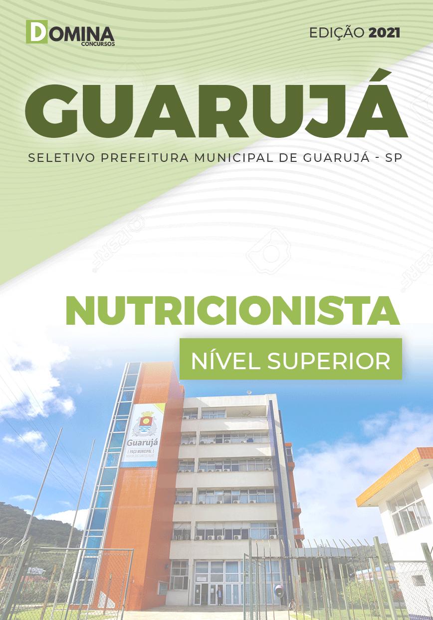 Apostila Processo Seletivo Pref Guarujá SP 2021 Nutricionista