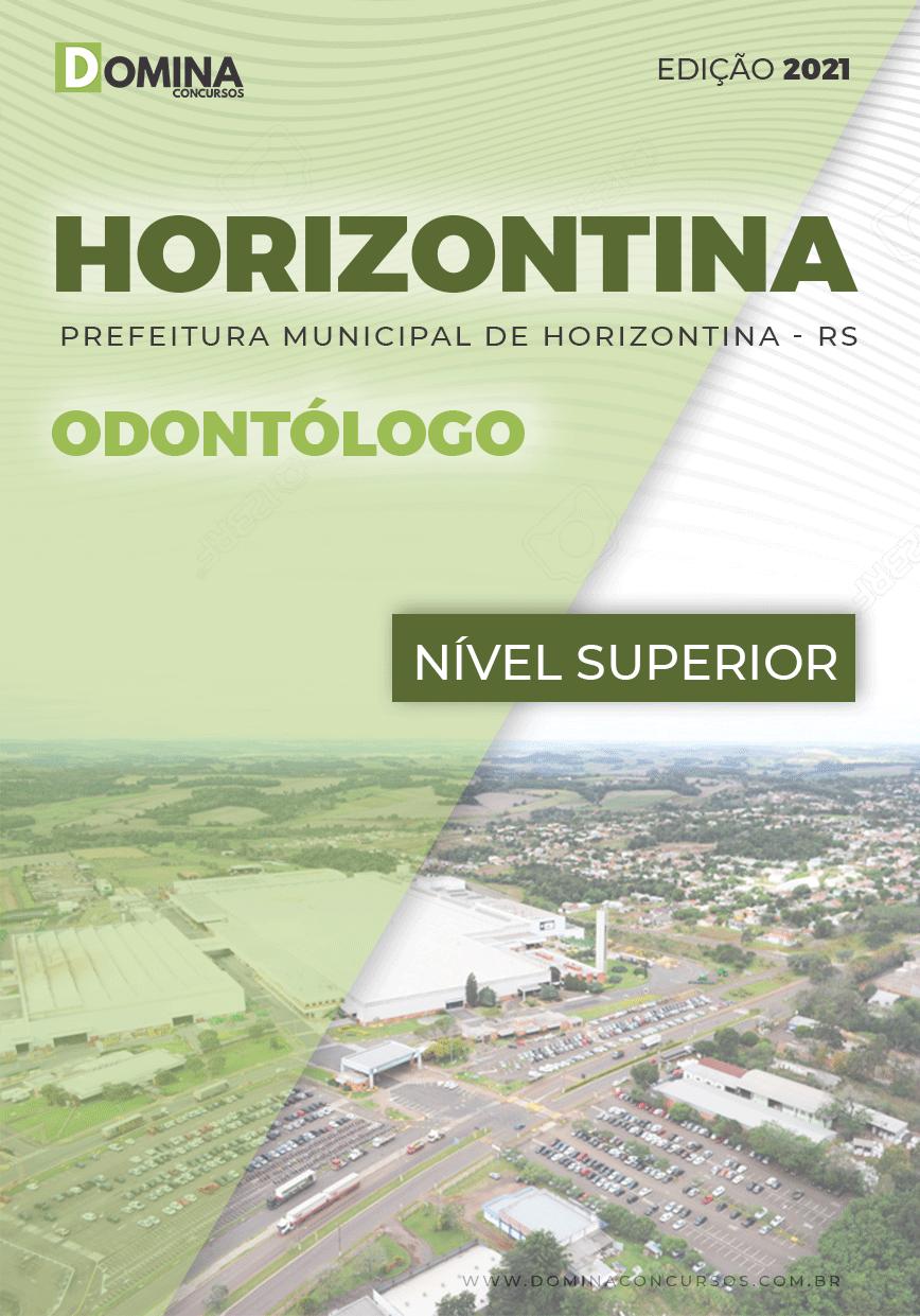 Apostila Concurso Pref Horizontina RS 2021 Odontólogo