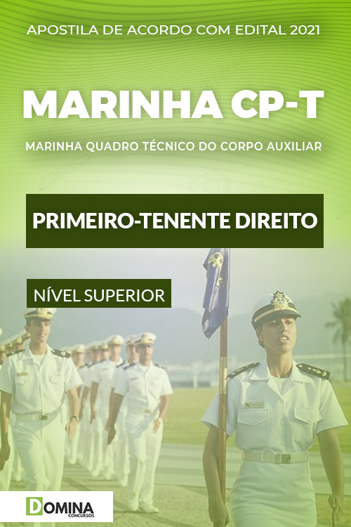 Apostila Concurso Marinha CP T 2021 Primeiro Tenente Direito