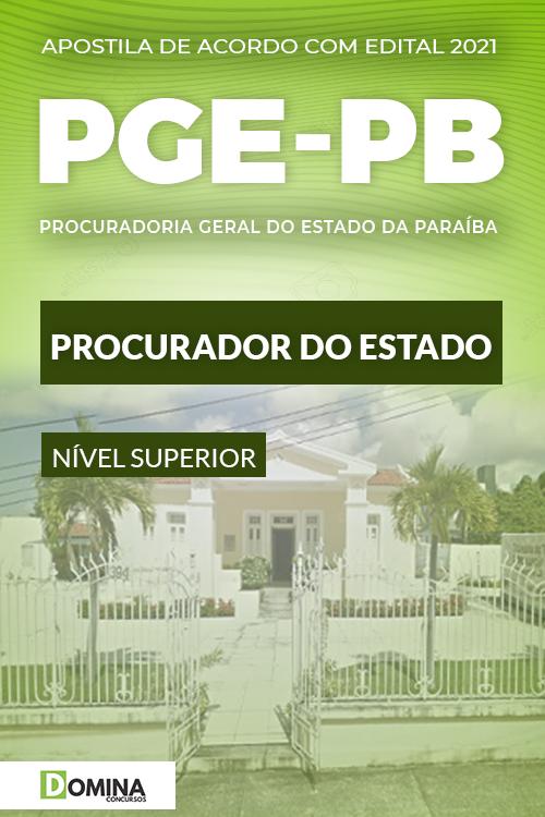 Apostila Concurso PGE PB 2021 Procurador do Estado CEBRASPE