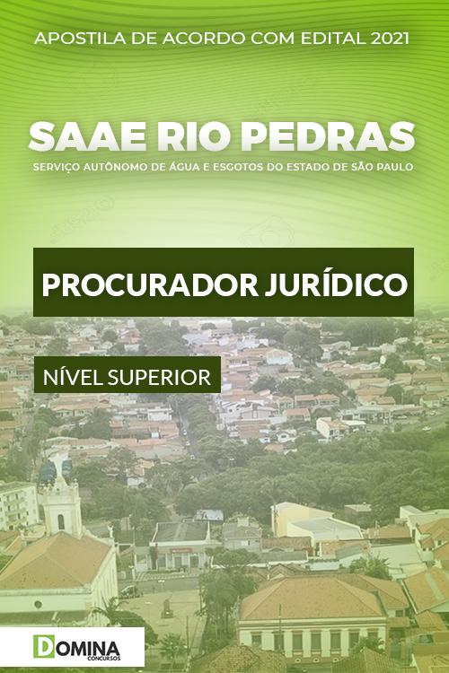 Apostila SAAE Rio das Pedras SP 2021 Procurador Jurídico
