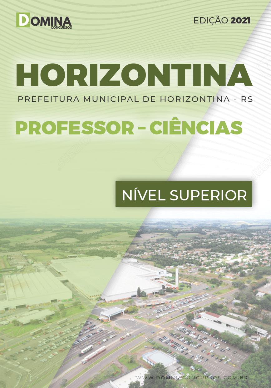 Apostila Concurso Pref Horizontina RS 2021 Professor Ciências