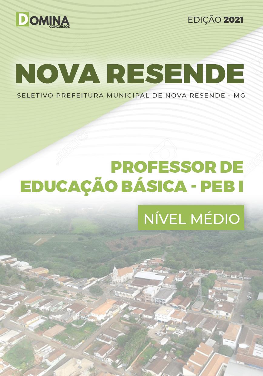 Apostila Pref Nova Resende MG 2021 Prof Educação Básica PEB I