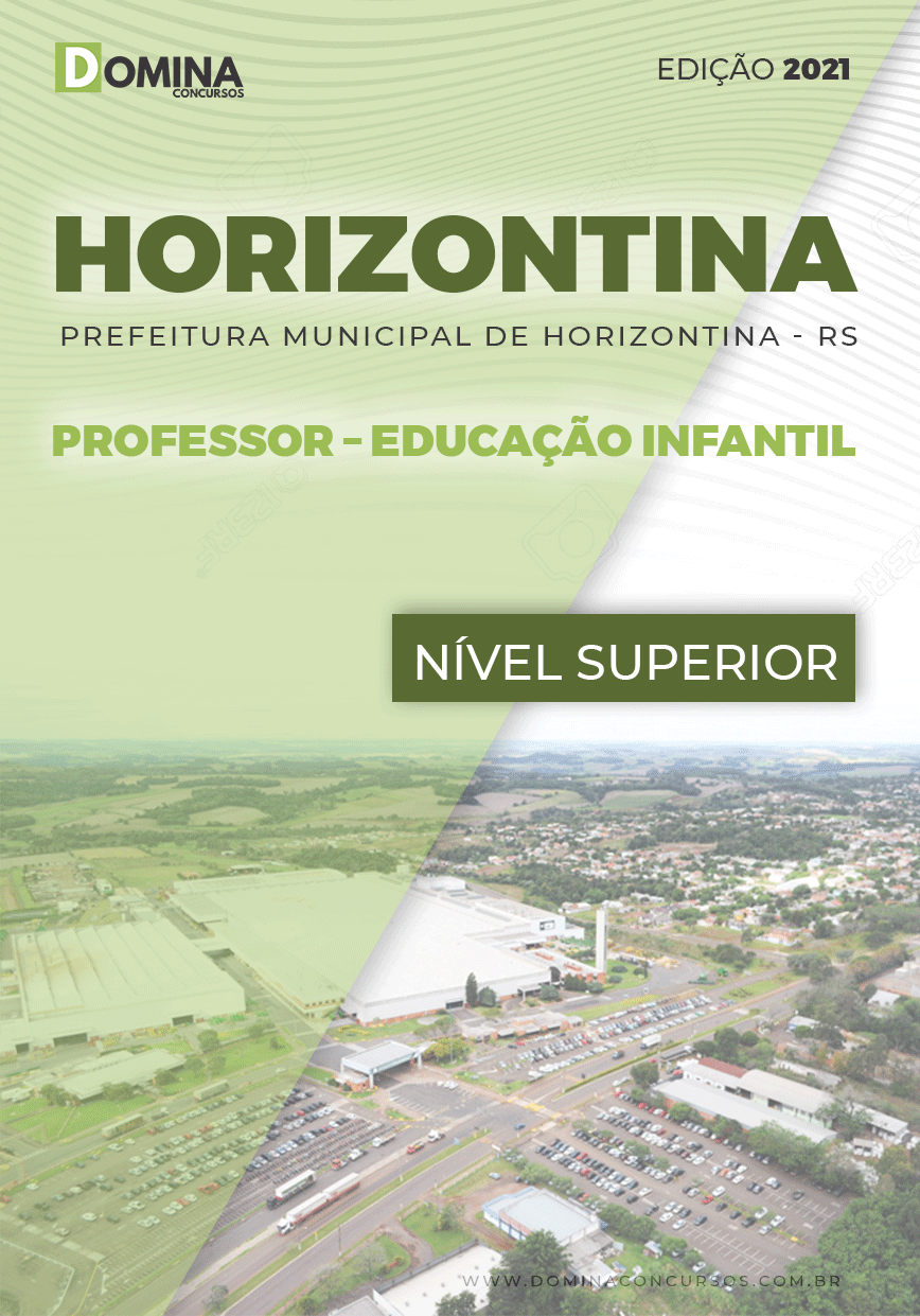 Apostila Pref Horizontina RS 2021 Professor Educação Infantil