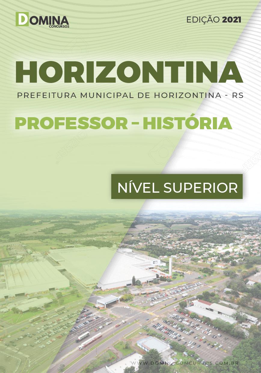 Apostila Concurso Pref Horizontina RS 2021 Professor História