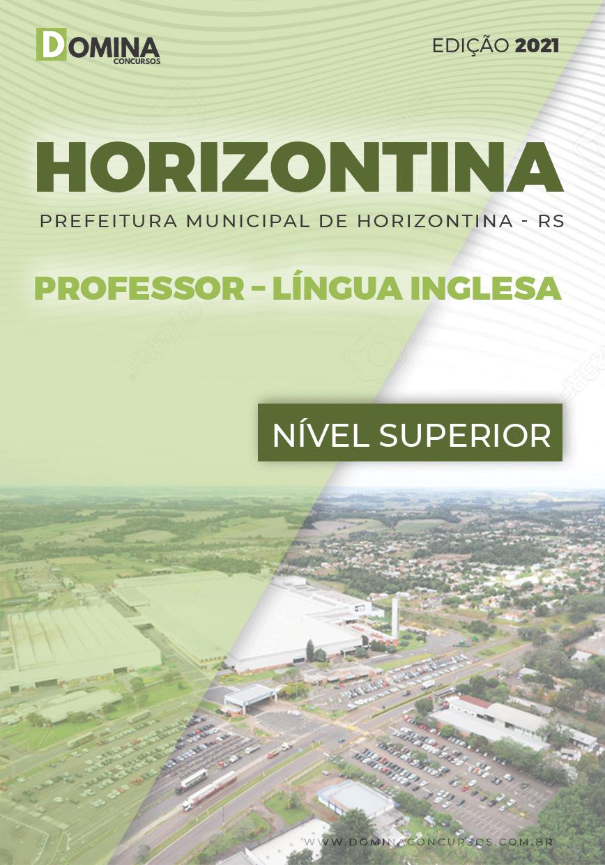 Apostila Pref Horizontina RS 2021 Professor Língua Inglesa