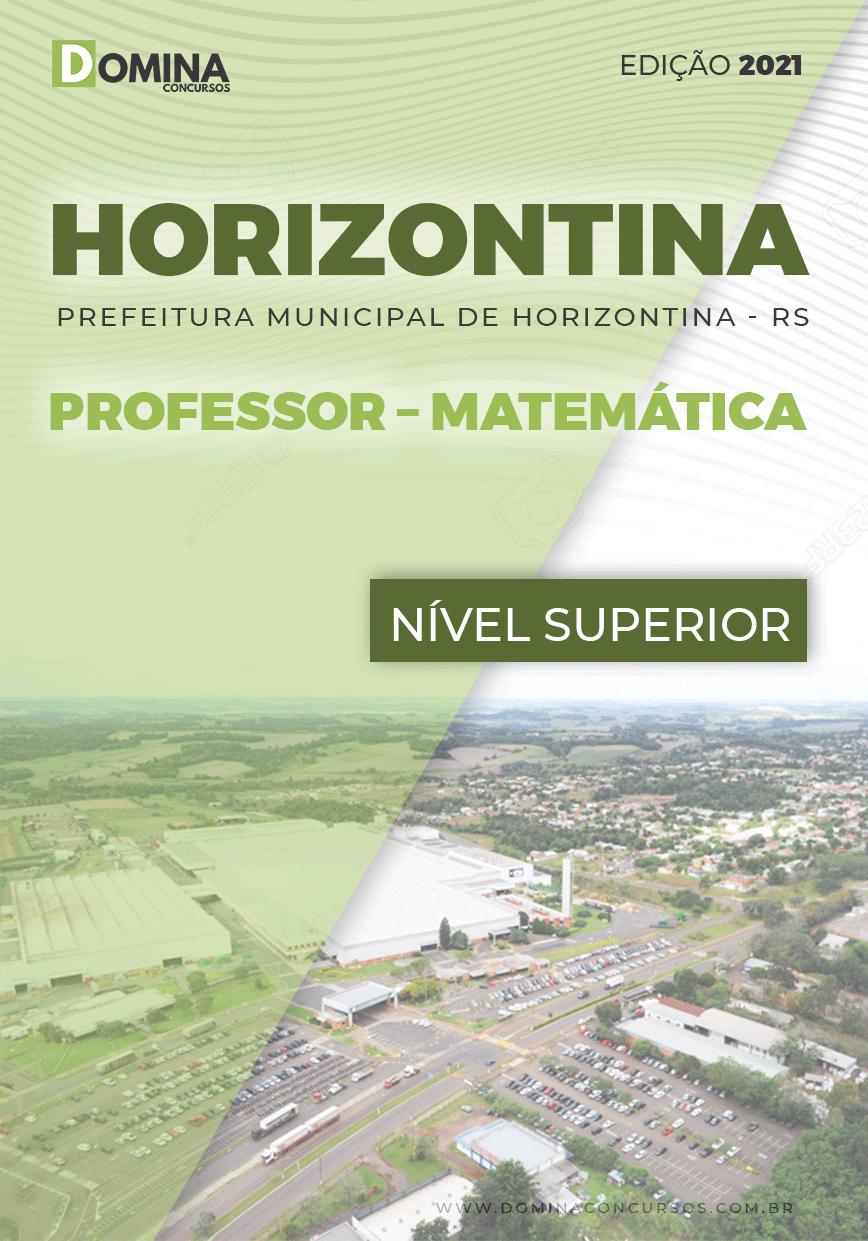 Apostila Concurso Pref Horizontina RS 2021 Professor Matemática