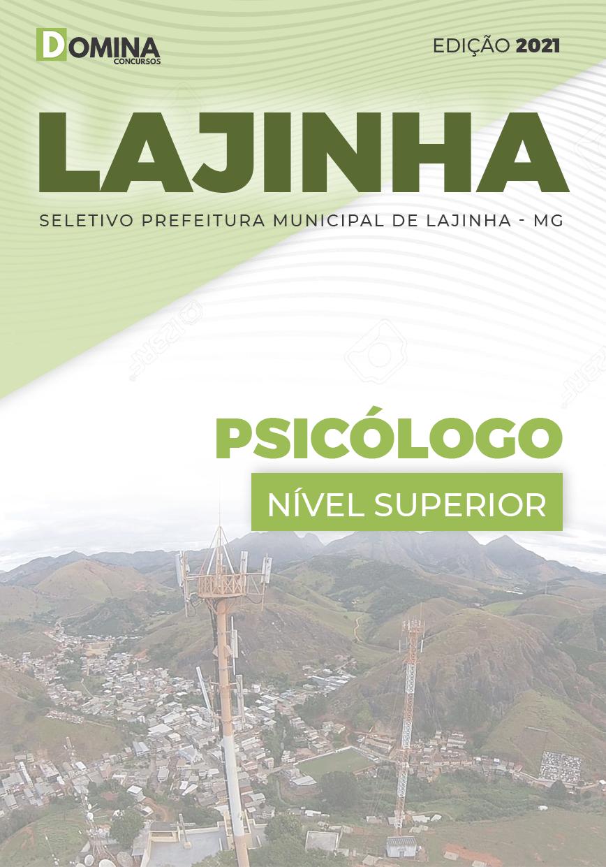 Apostila Processo Seletivo Pref Lajinha MG 2021 Psicólogo