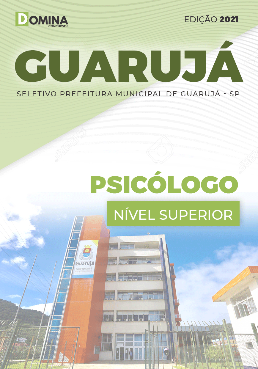 Apostila Processo Seletivo Pref Guarujá SP 2021 Psicólogo