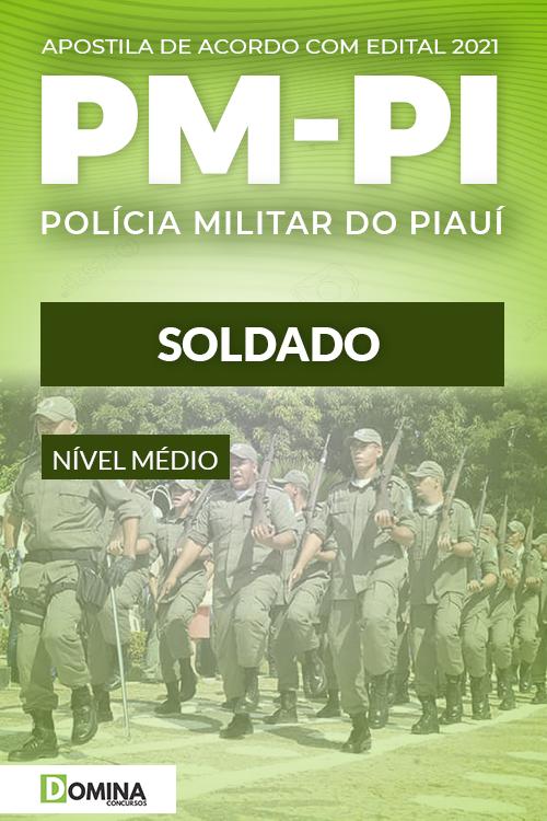 Apostila Concurso Público PM PI 2021 Soldado NUCEPE