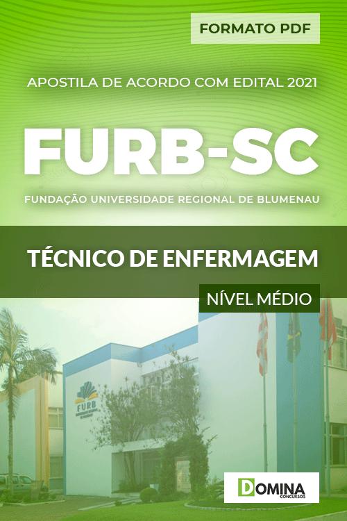 Apostila Seletivo FURB SC 2021 Técnico de Enfermagem