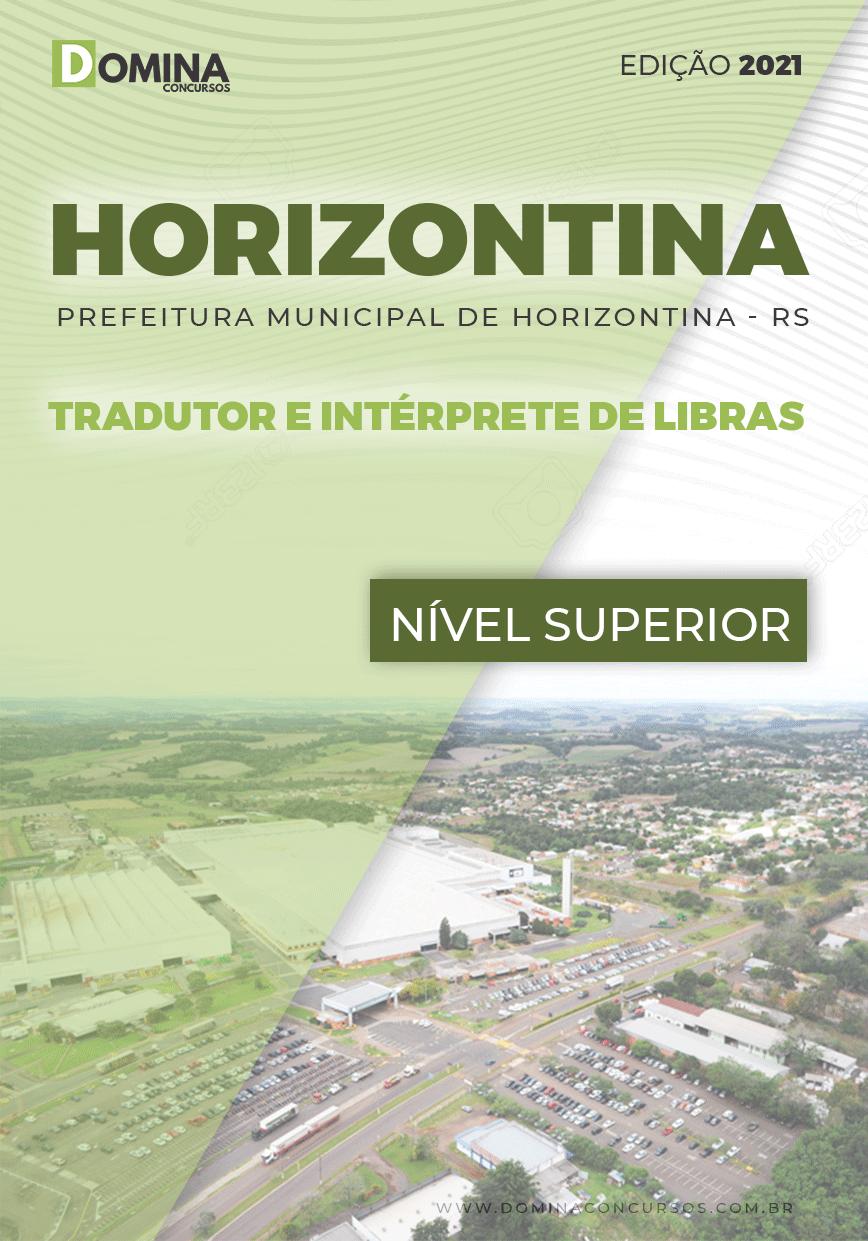 Apostila Pref Horizontina RS 2021 Tradutor e Intérprete de Libras