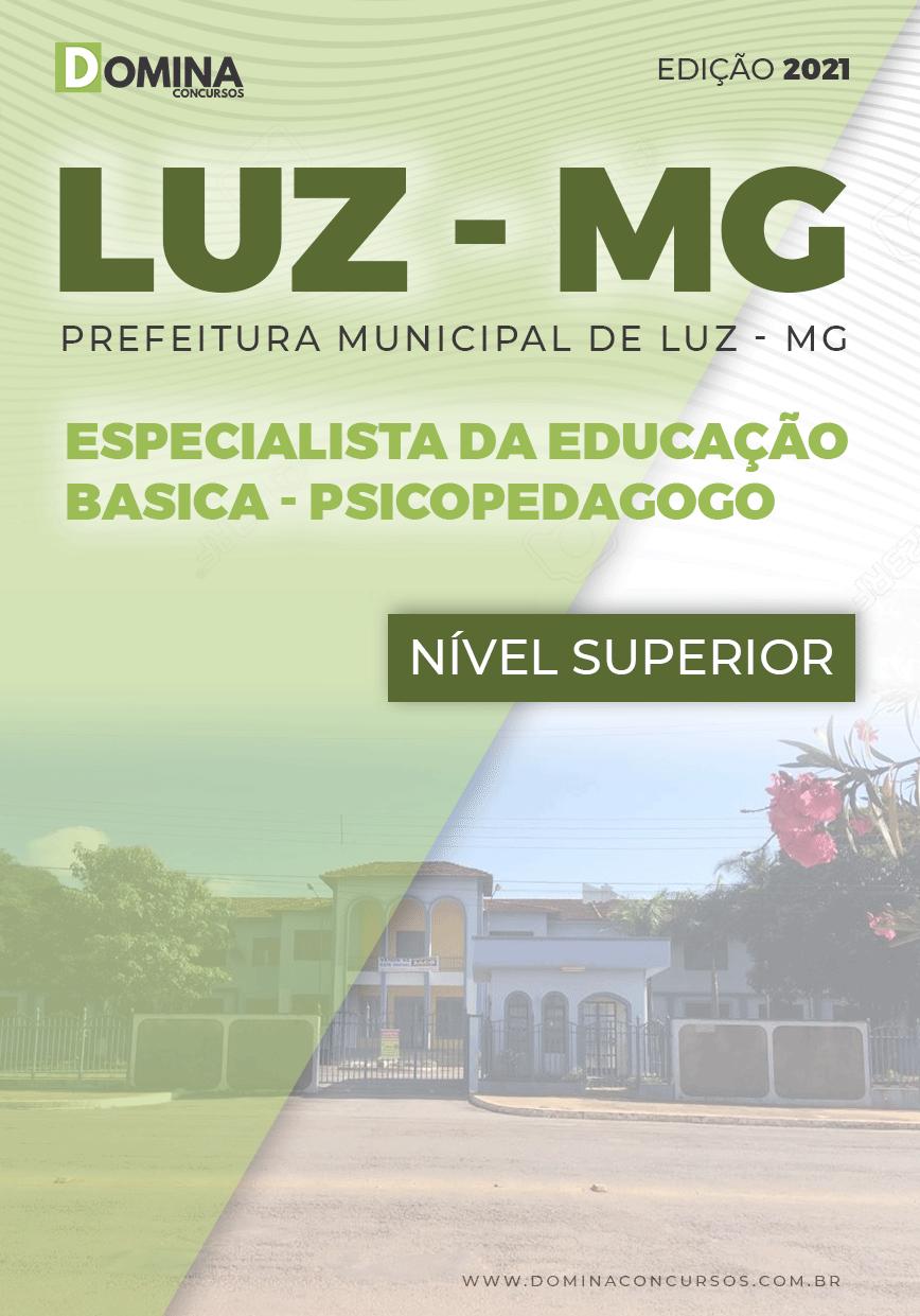Apostila Concurso Público Pref Luz MG 2021 Psicopedagogo
