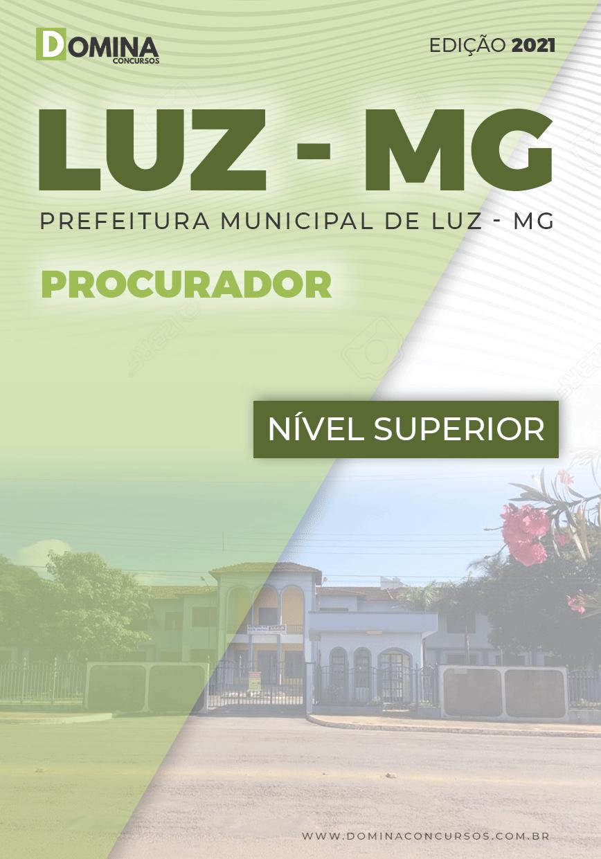 Apostila Concurso Público Pref Luz MG 2021 Procurador
