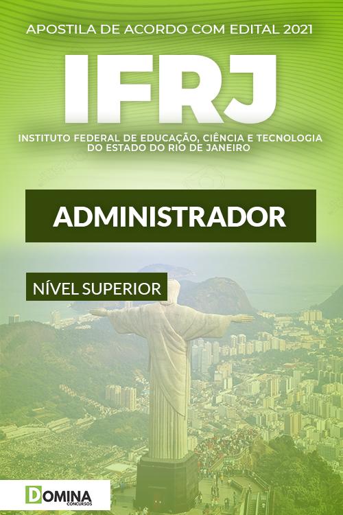 Apostila Concurso Público IFRJ 2021 Administrador
