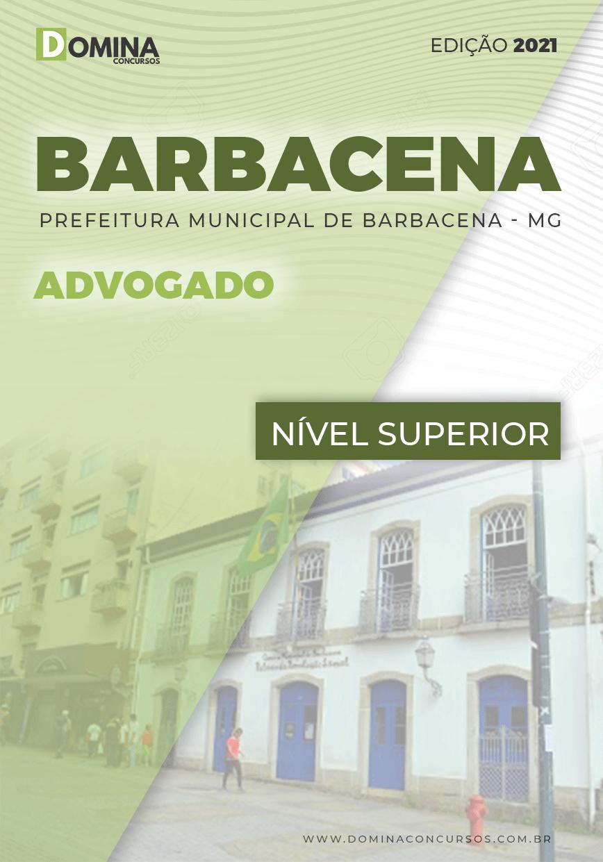 Apostila Concurso Câmara Barbacena MG 2021 Advogado