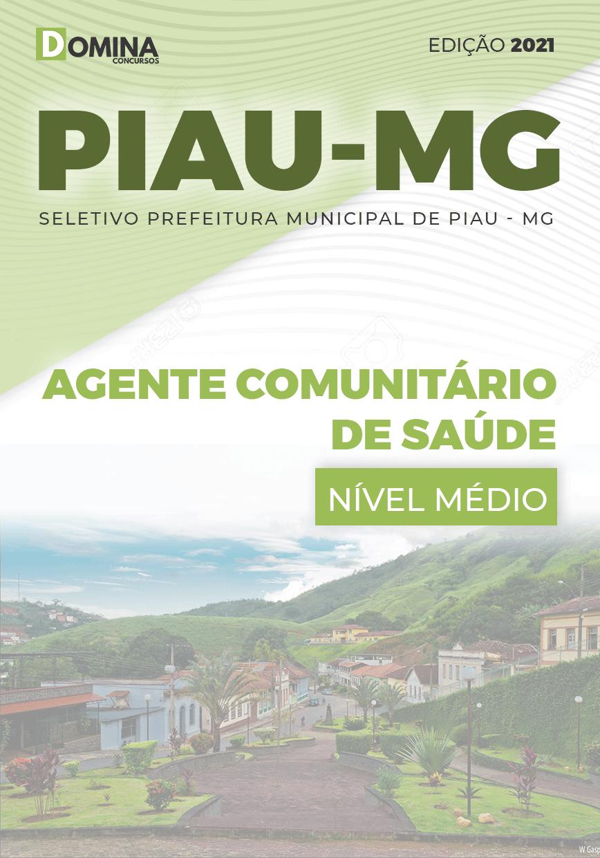 Apostila Seletivo Pref Piau MG 2021 Agente Comunitário de Saúde