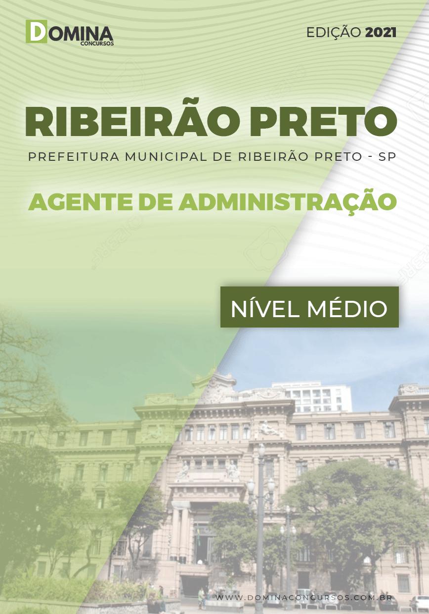 Apostila Pref Ribeirão Preto SP 2021 Agente de Administração