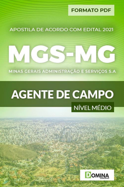 Apostila Processo Seletivo MGS MG 2021 Agente de Campo