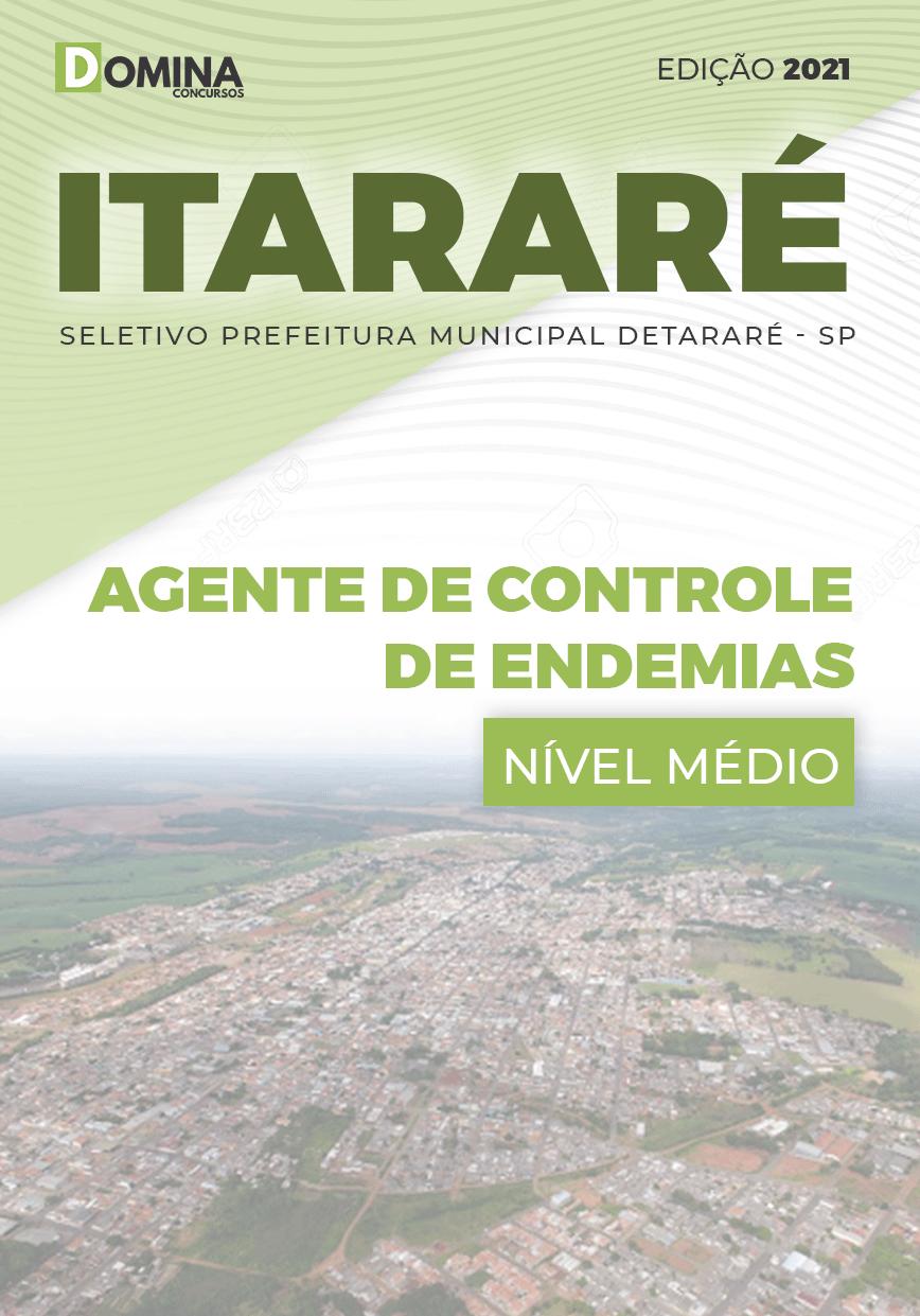 Apostila Prefeitura Itararé SP 2021 Agente Controle Endemias