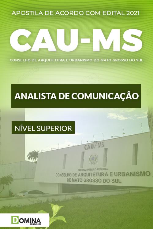 Apostila Concurso Público CAU MS 2021 Analista de Comunicação