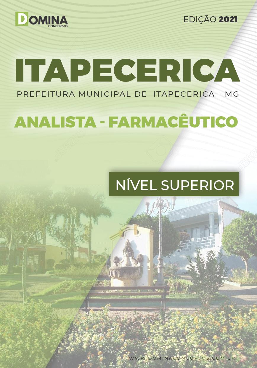 Apostila Concurso Pref Itapecerica MG 2021 Analista Farmacêutico