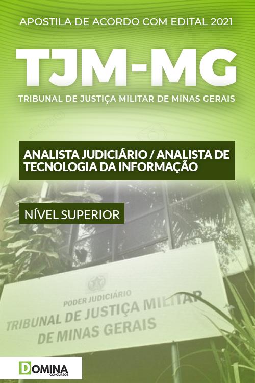 Apostila Concurso TJM MG 2021 Analista de Tecnologia da Informação