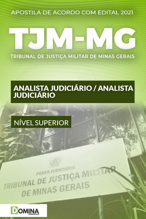 Apostila Concurso Público TJM MG 2021 Analista Judiciário