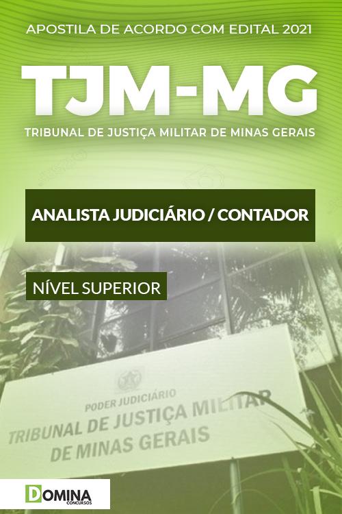 Apostila Concurso TJM MG 2021 Analista Judiciário Contador