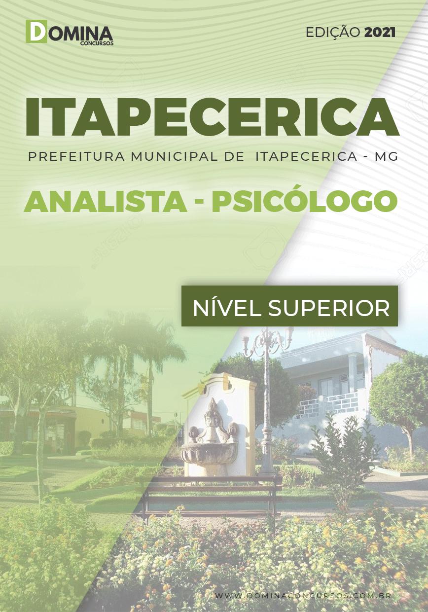 Apostila Concurso Pref Itapecerica MG 2021 Analista Psicólogo