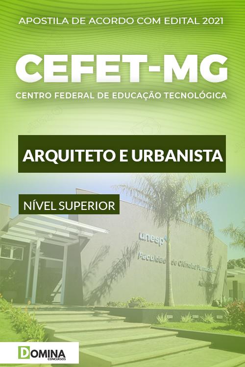 Apostila Concurso CEFET MG 2021 Arquiteto e Urbanista
