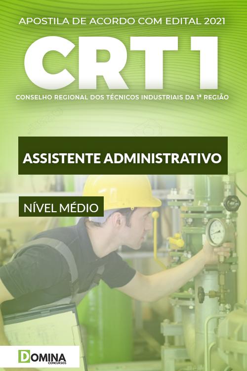Apostila Concurso Público CRT1 2021 Assistente Administrativo