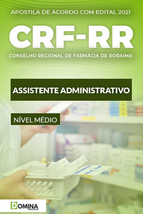 Apostila Concurso CRF RR 2021 Assistente Administrativo