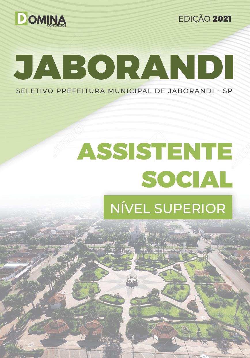 Apostila Processo Seletivo Jaborandi SP 2021 Assistente Social